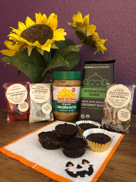 Chocolate Sunflower Seed Butter Cups