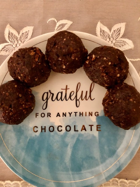 grateful for anything chocolate image