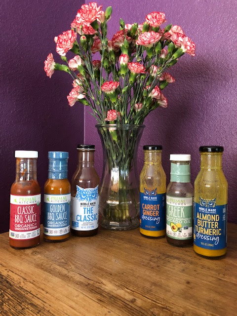 sauces and dressings image