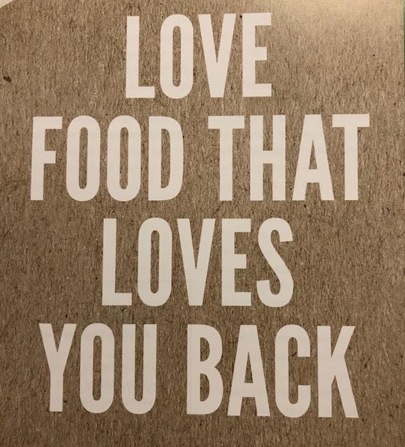 Love food that loves you back image