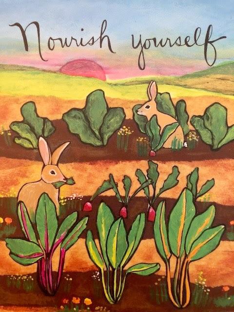 Nourish yourself rabbit garden image